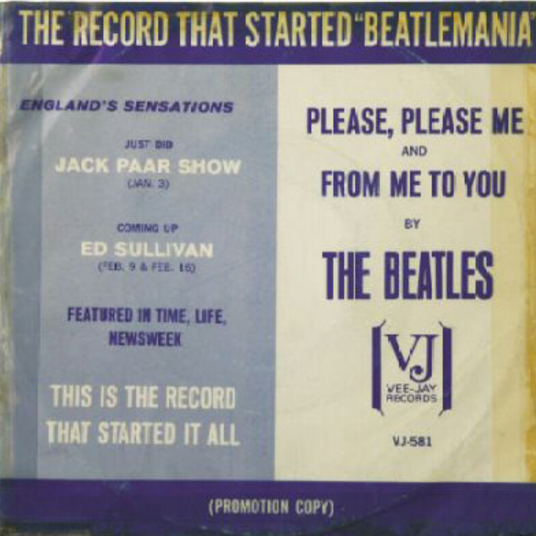 Vee Jay 581 Promo Picture Sleeve Beatles Price Guide